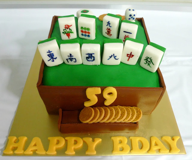 Mahjong Cake Design