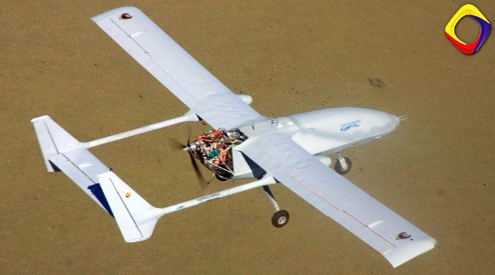 drone iris fuerza aerea colombiana