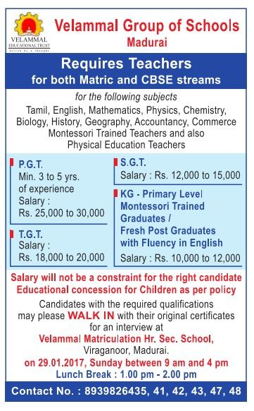 Resume For Teachers In Tamilnadu
