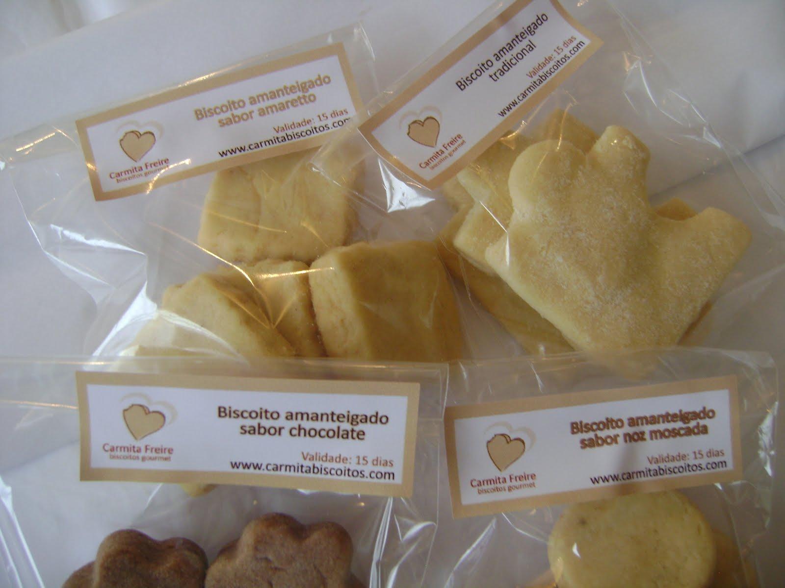 biscoitos saborizados