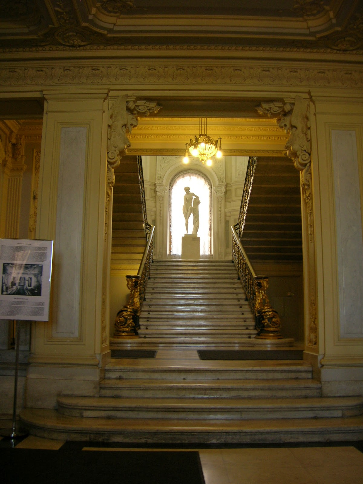 Grand Foyer In English : Abroad in a year of travel sailing the admiralty