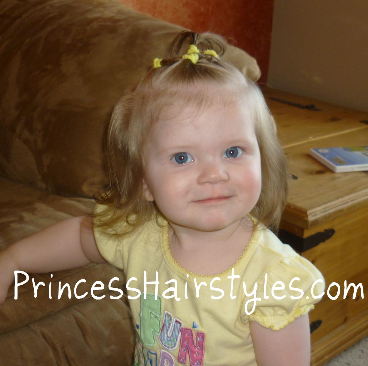 Baby Hairstyles Elastic Halo
