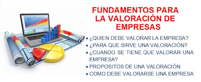 Fundamentos para la valorizacion de empresas
