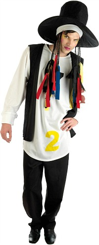Boy George Fancy Dress Costume