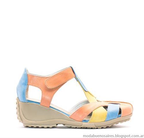Zapatos primavera verano 2015. Anjou moda en calzado femenino 2015.