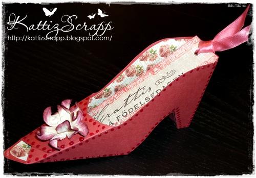 Scrapbutiken Kan en tjej få för många skor?