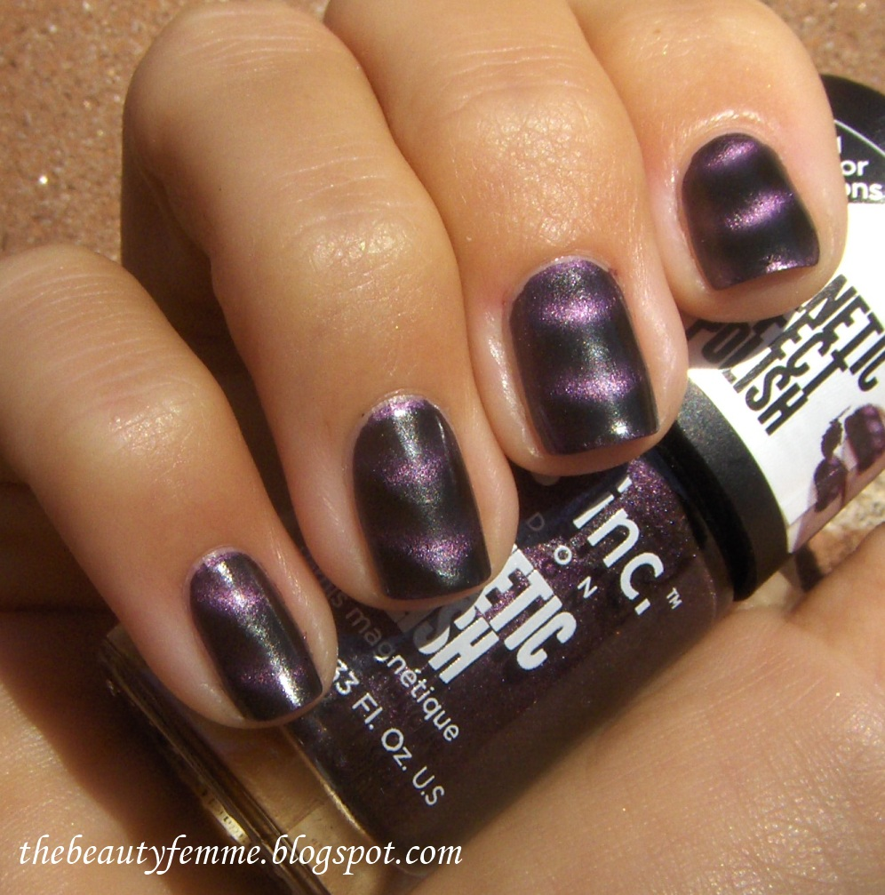 Magnetic Nail Polish Nails Inc Instructions - To Bend Light
