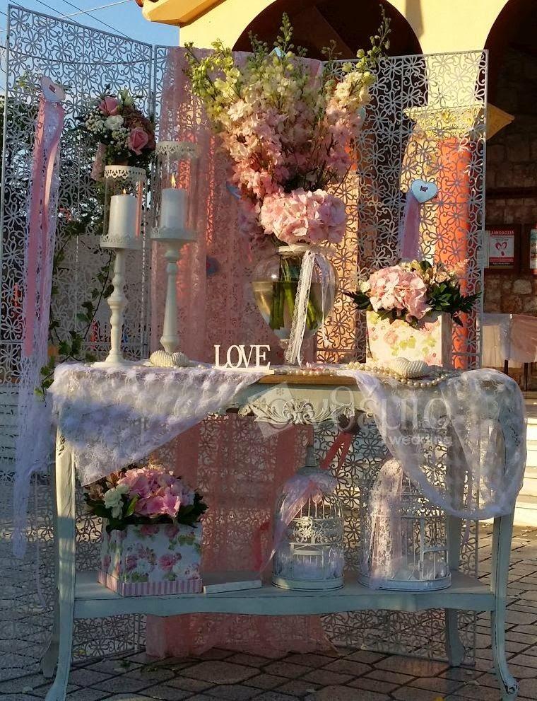διακόσμηση γάμου ανθέμιο