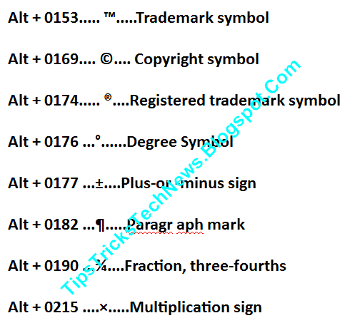 Alawode Mac Trademark Symbol Shortcut 608526792 2018
