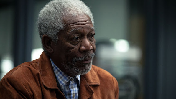 morgan freeman as joseph tagger transcendence movie