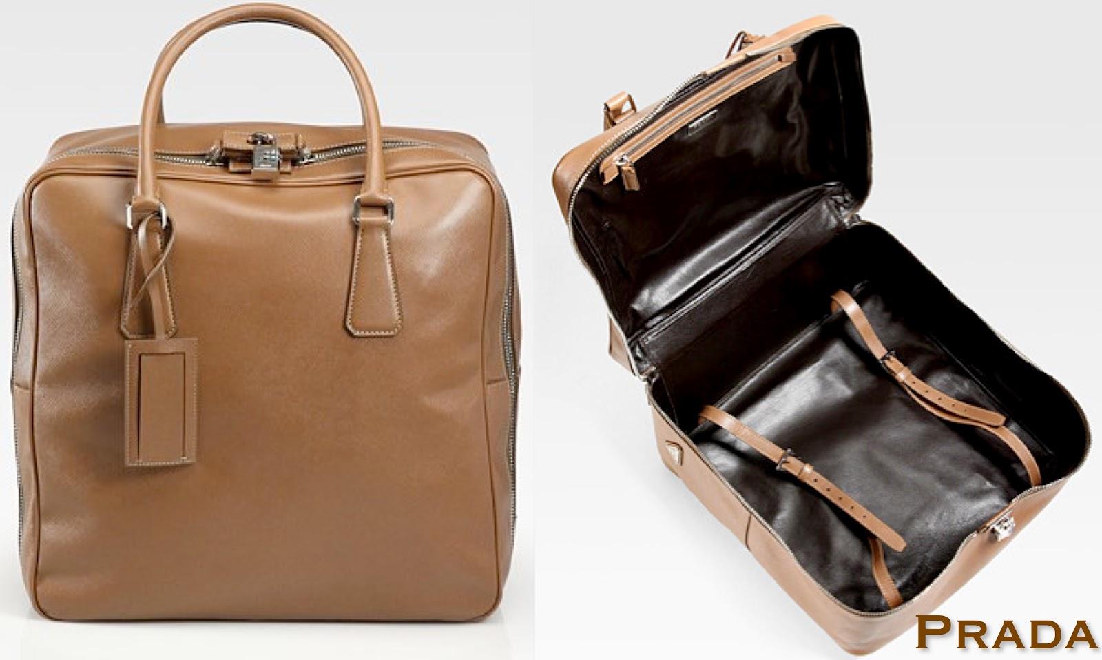 prada tote bags leather