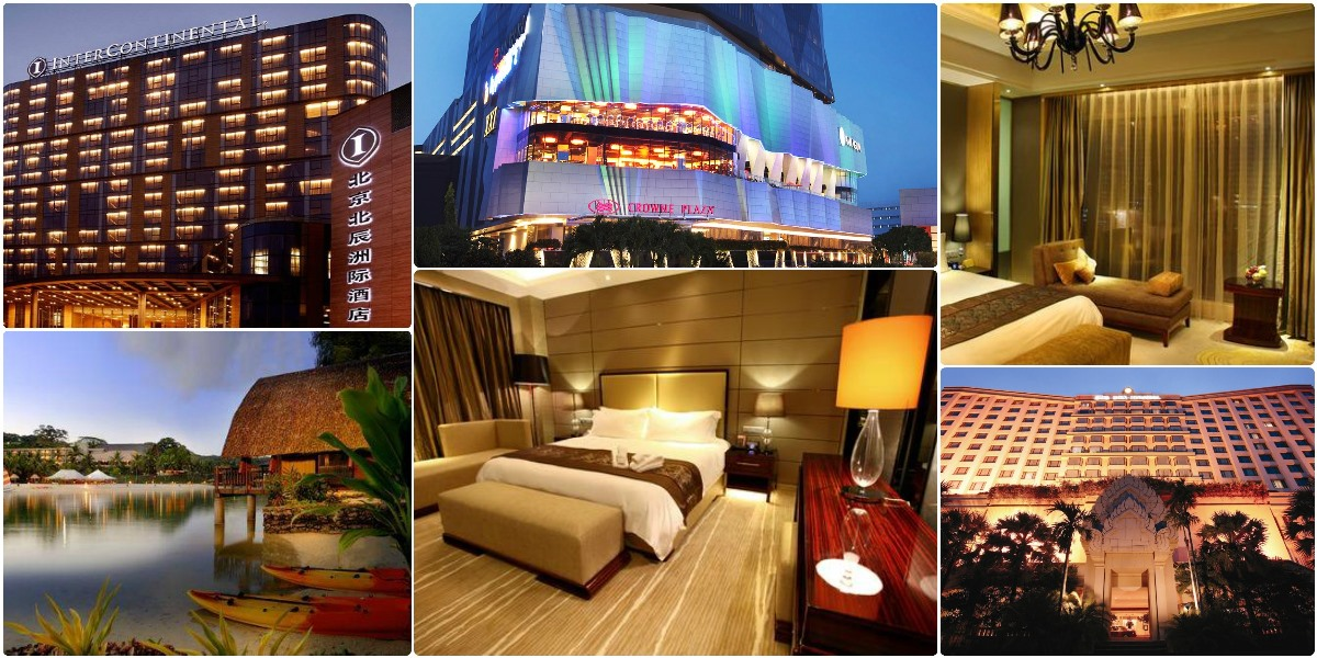 hotele pointbreaks lista styczen 2013 IHG hotel spotter