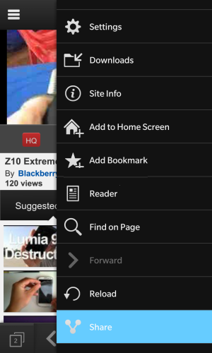 How to download youtube videos on blackberry 10 smartphone select the download app then choose the quality of video that you would like ccuart Images