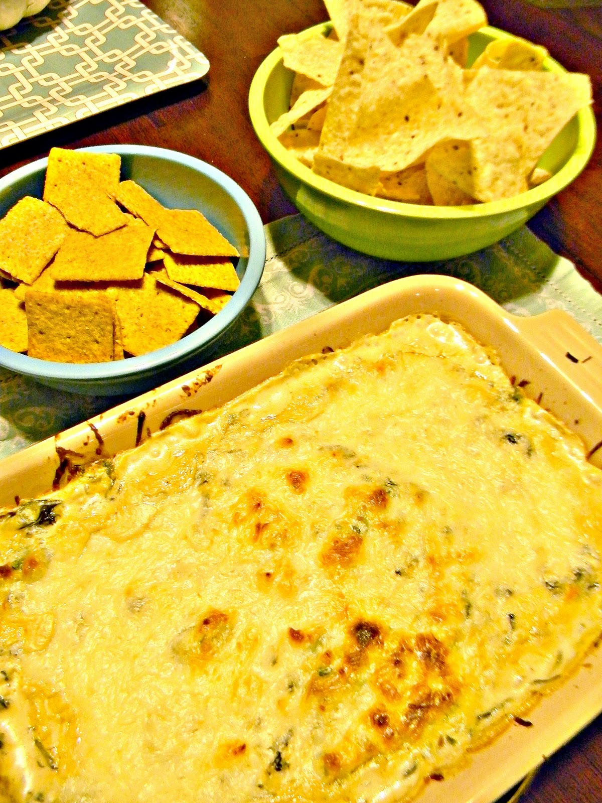 From Dahlias to Doxies: Hot Spinach Dip