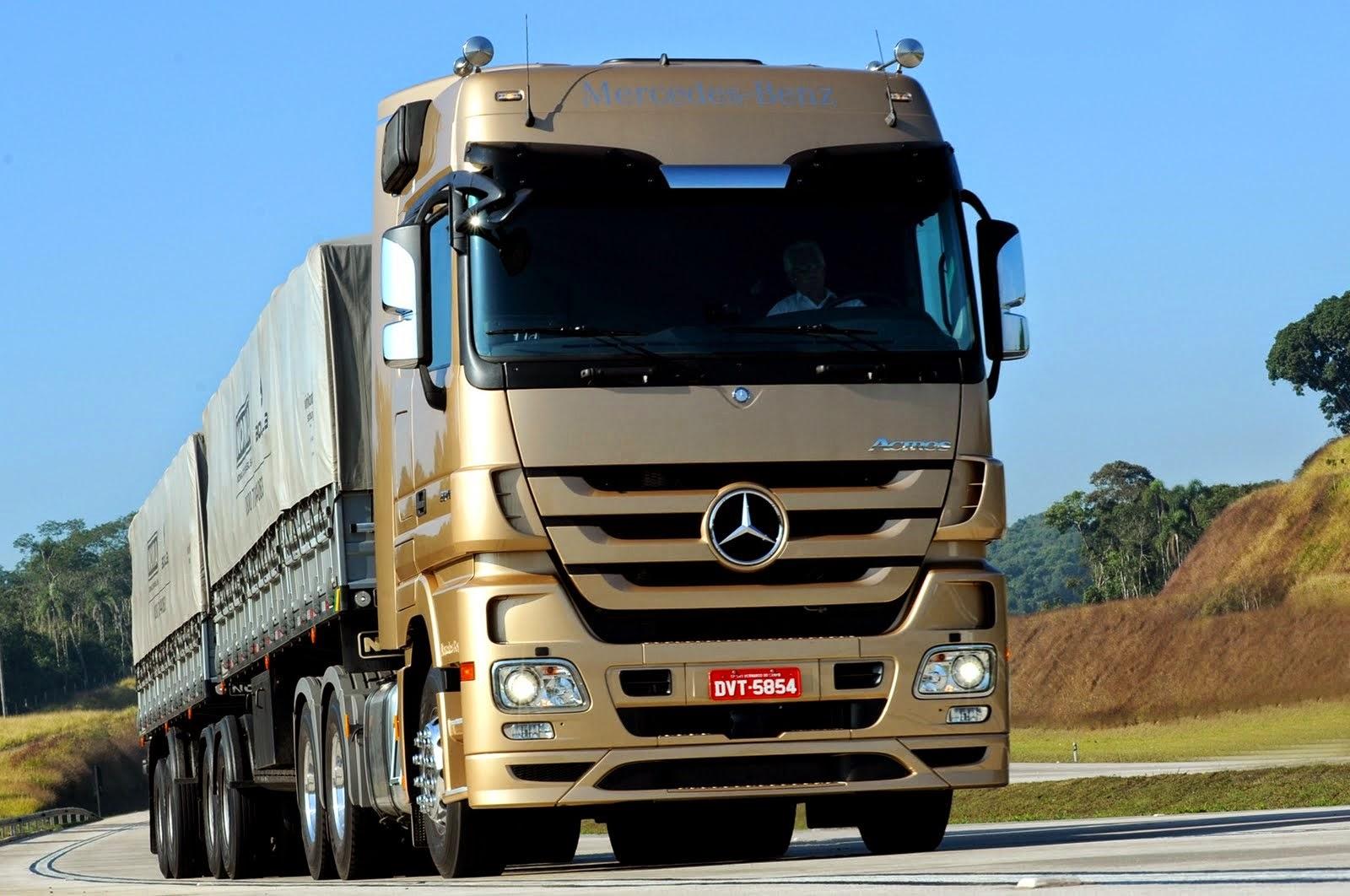 Papel de parede de Caminhão e Carreta! | As Máquinas Pesadas