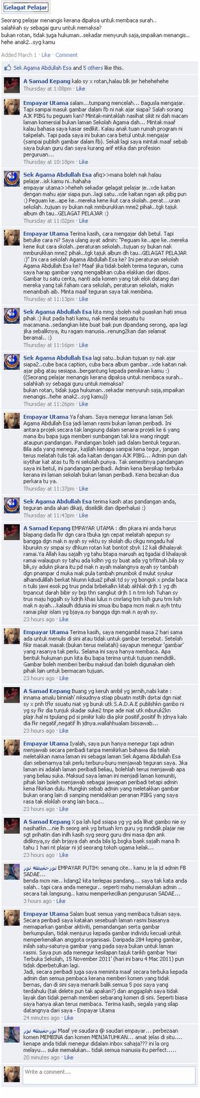 Memalukan Orang Melayu