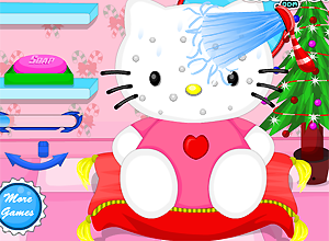 Hello Kitty Christmas Makeover