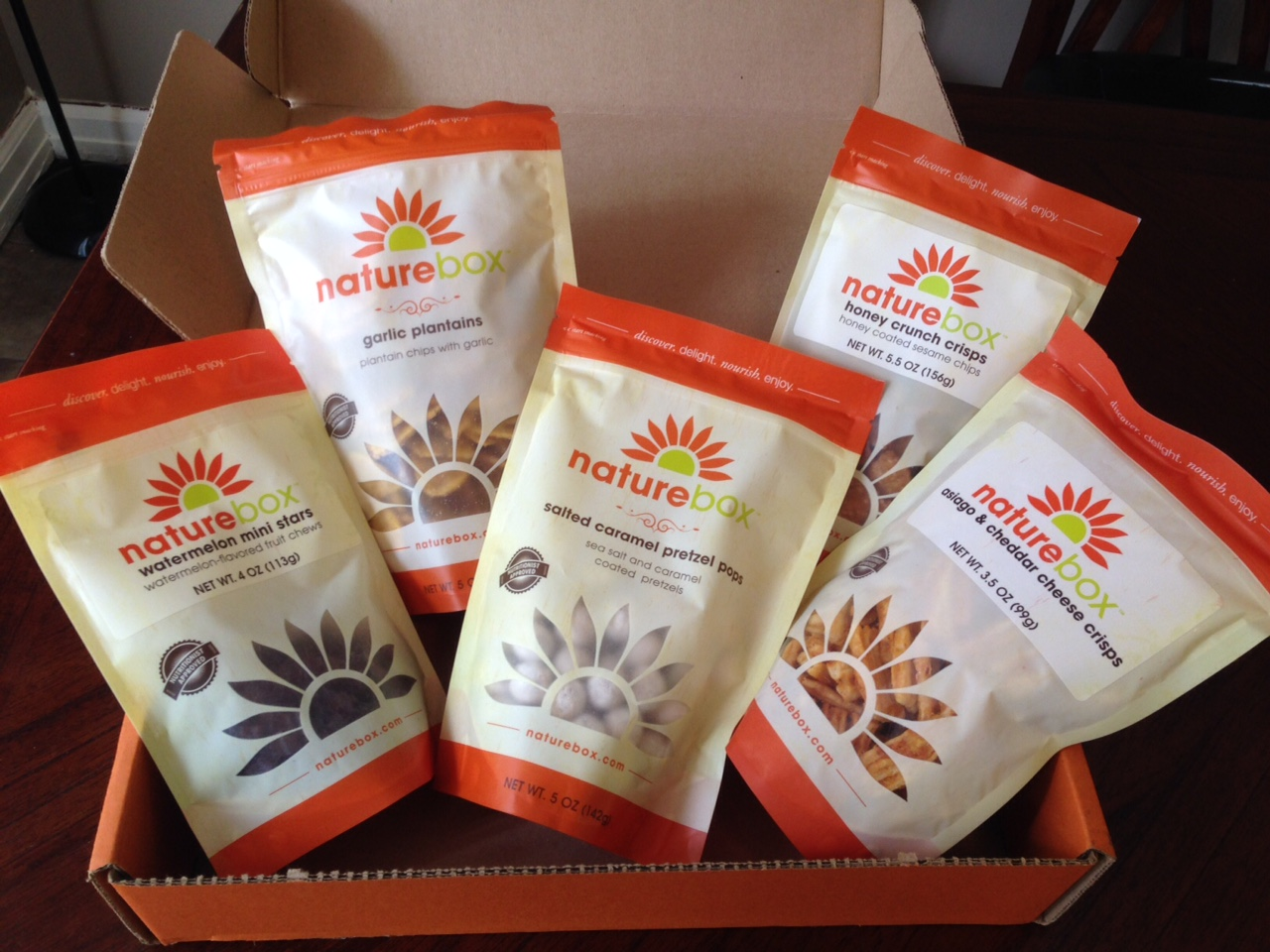 the peppermint heart my first official naturebox. Black Bedroom Furniture Sets. Home Design Ideas