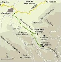 Muntanyes de Prades, Capafonts