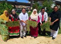 Projek Wakaf Rumput