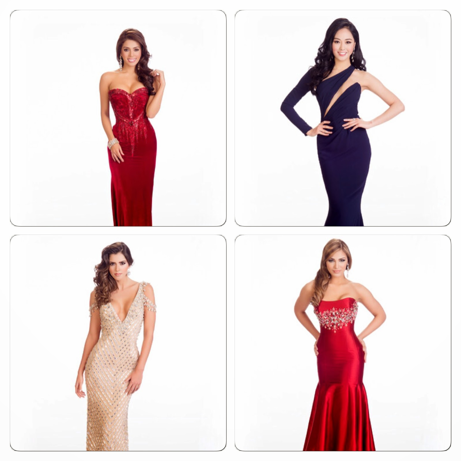 Colombia Evening Dresses