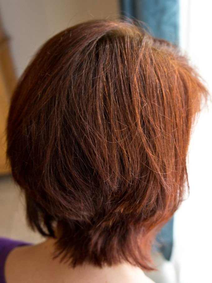 Henna Mehndi Hair Colour : Henna on black hair results makedes