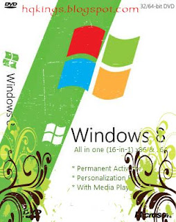 Windows 8 AlO 16 in 1