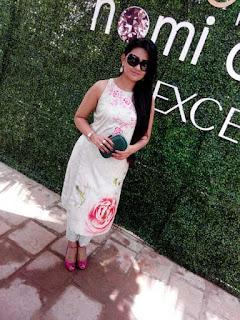 Nomi Ansari. Ambassador of fashion, Gemstone Collection, Color Story, L'oreal Paris Pakistan, L'oreal creme excellence, Sworovski, silk prints, floral, spring, ss15, fashion, fashion blog, fashion blog of pakistan, top fashion blog, fashion news, luxury pret