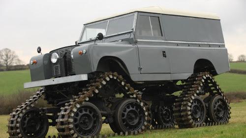 Colecção de Land Rovers para leilão