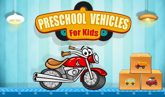 vehicle game for kids