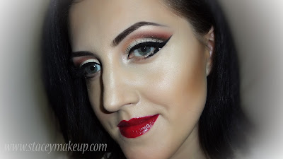vintage cut crease makeup