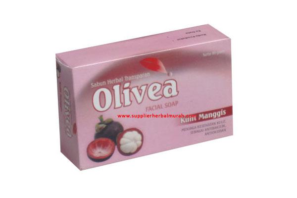 Sabun Wajah Herbal Olivea Kulit Manggis