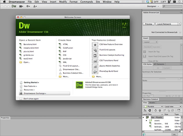 Adobe Dreamweaver CS6 Full key Crack