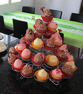 Cupcake-torni
