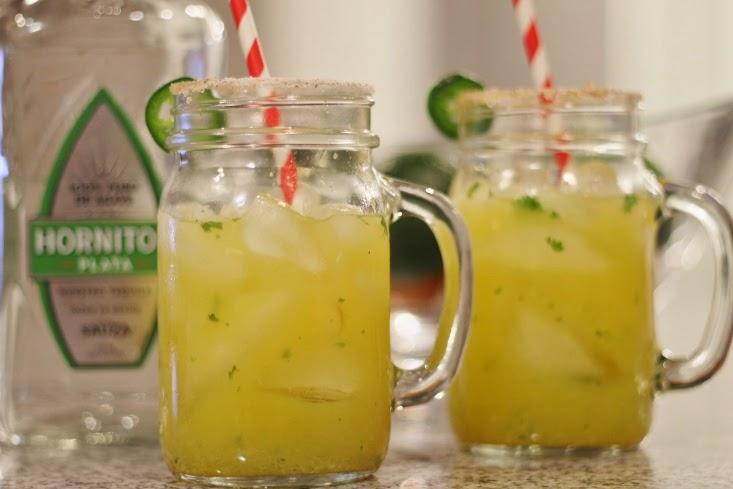Hornitos Tequila - Spicy Skinny Jalapeno Margarita Recipe