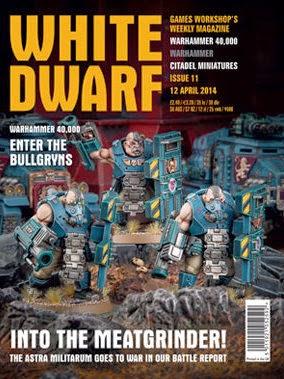 número 11 de la revista White Dwarf Weekly