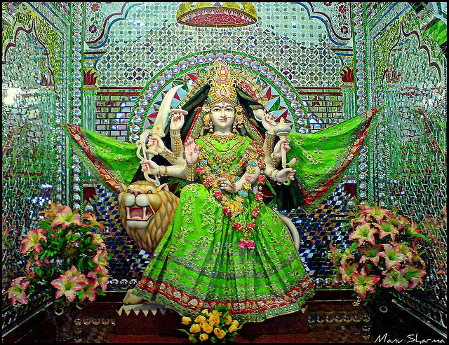 Navratri Durga Puja Decorations