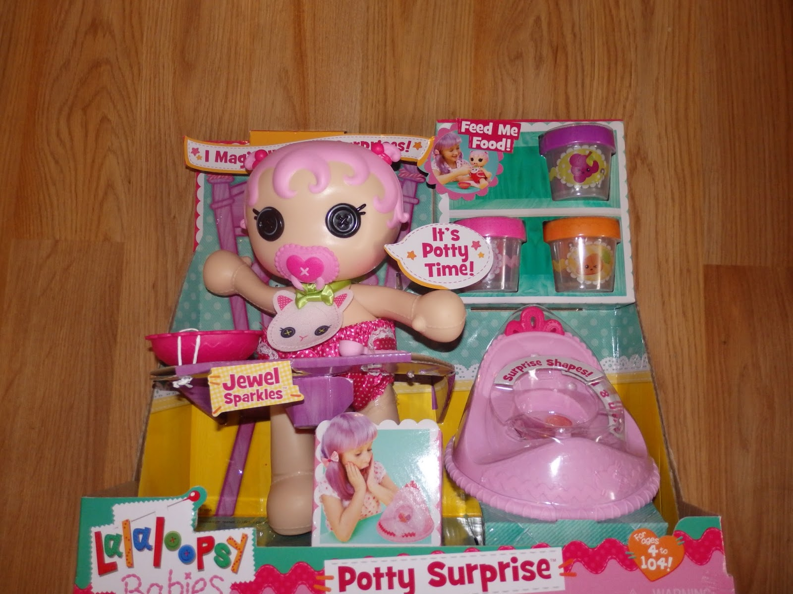 Lalaloopsy Toy Food : New age mama lalaloopsy babies surprise potty doll
