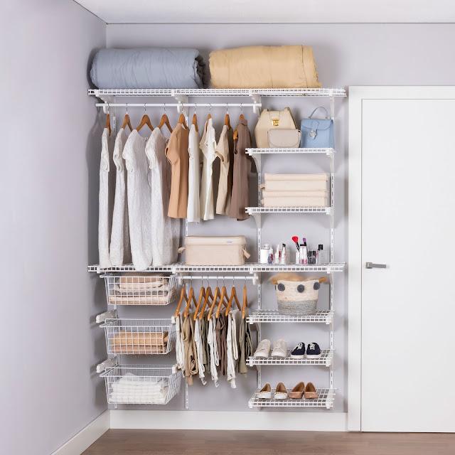 Armário aramado kit 54 - Closet ou quarto