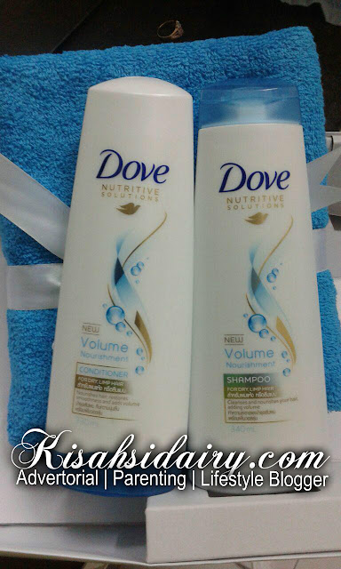 Shampoo Dove Volume & Nourishment