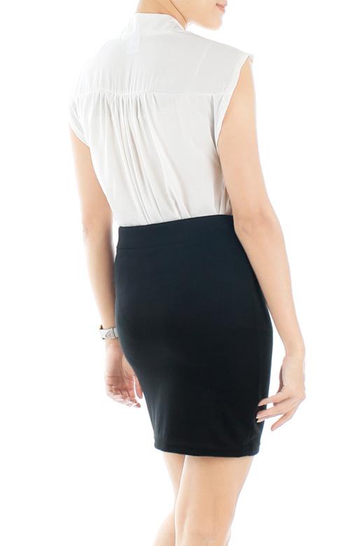 Versatile Bandeau Skirt - Black