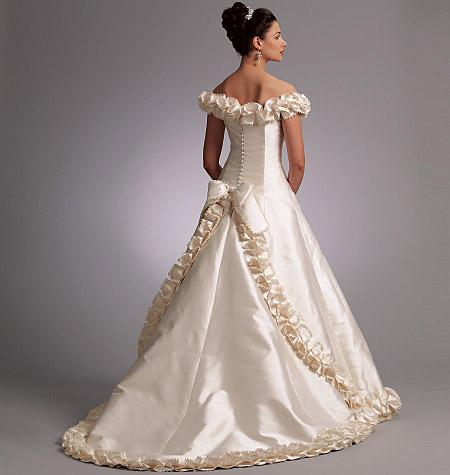 Shopping for wedding dress patterns can be as daunting as a task to buy a