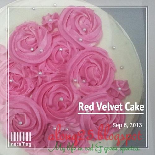 red velvet cakes sedap order bangi putrajaya murah penghantaran percuma