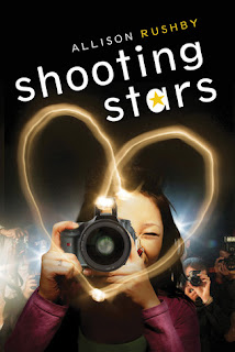 Book cover of Shooting Stars by Allison Rushby, published by Walker Children's