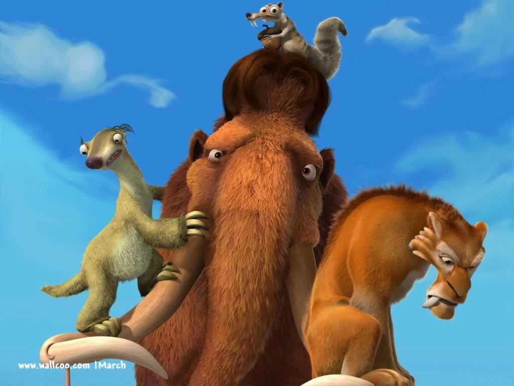 ice age 2 manny and ellie first meet
