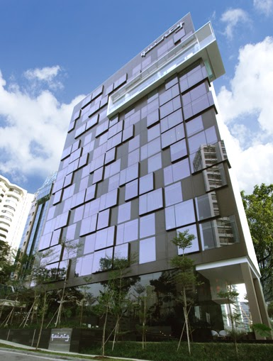 Hotel quincy ong ong modern hotel architecture modern for Appart hotel quincy