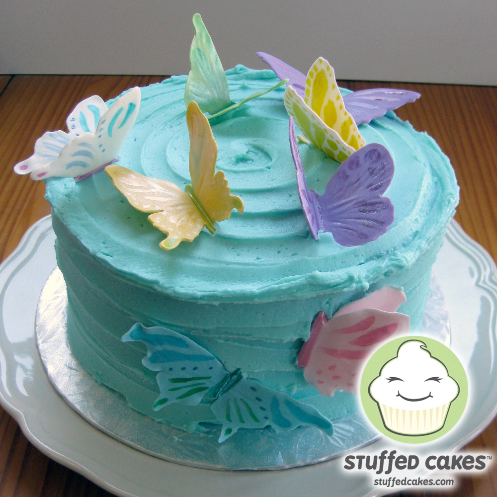 Stuffed Cakes: Easter Butterfly Cake