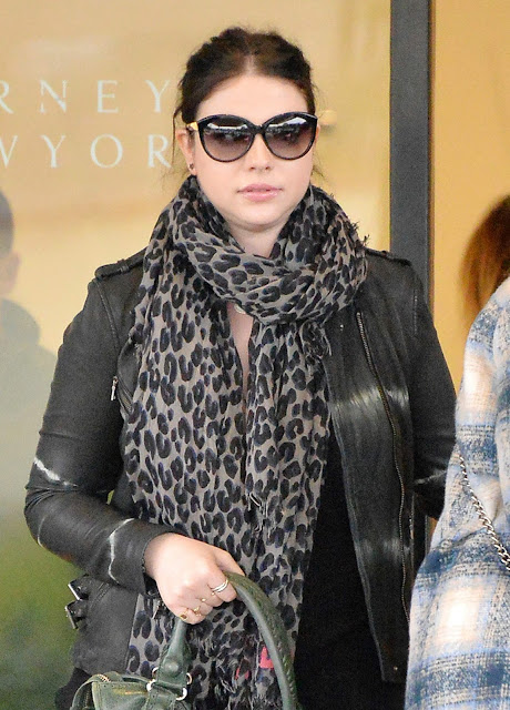 Actress, @ Michelle Trachtenberg shopping at Barneys