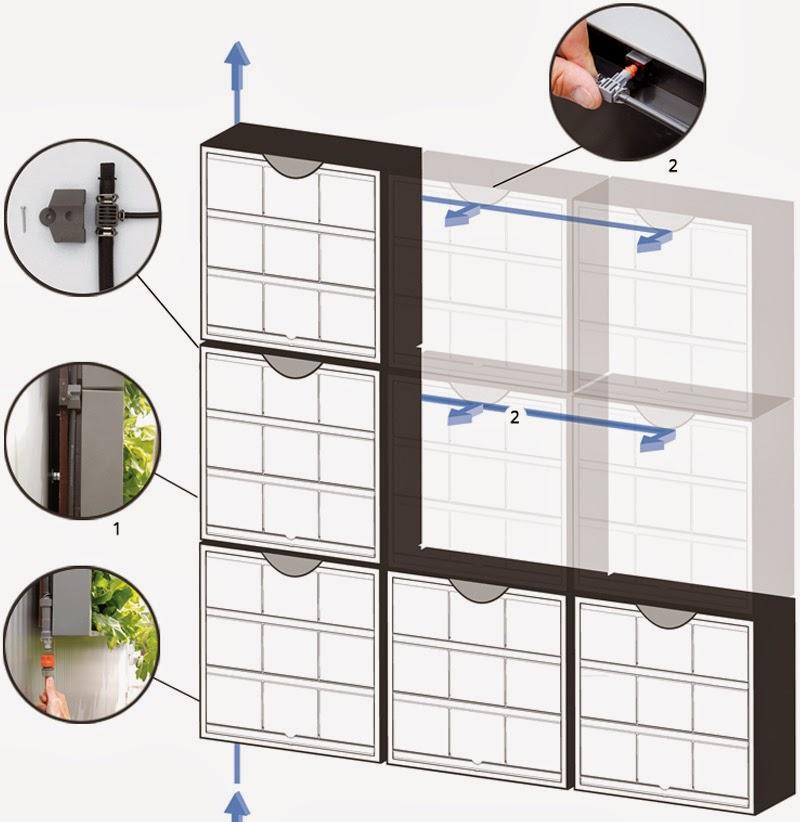 modulos jardines verticales