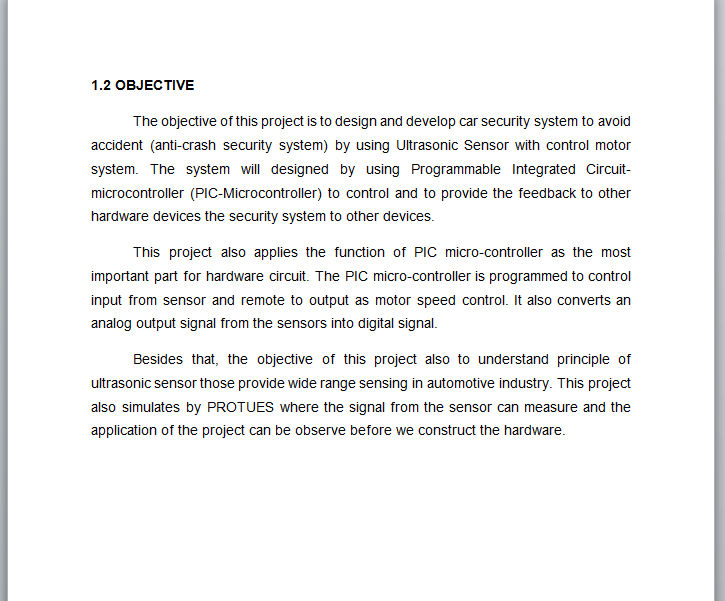 background of the problem thesis